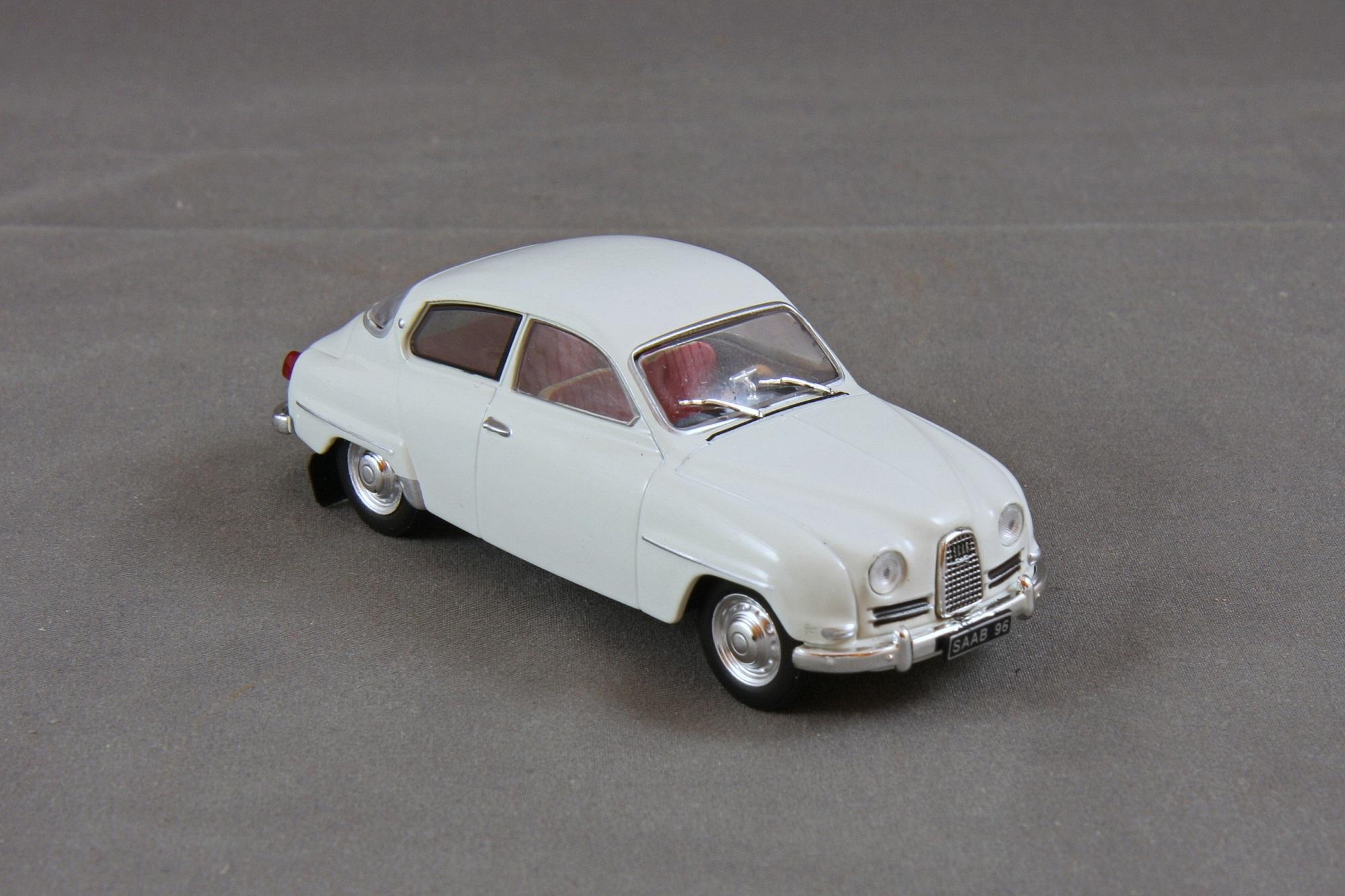 Saab 96 1964-1:43 Editions Atlas Diecast Model Car S002